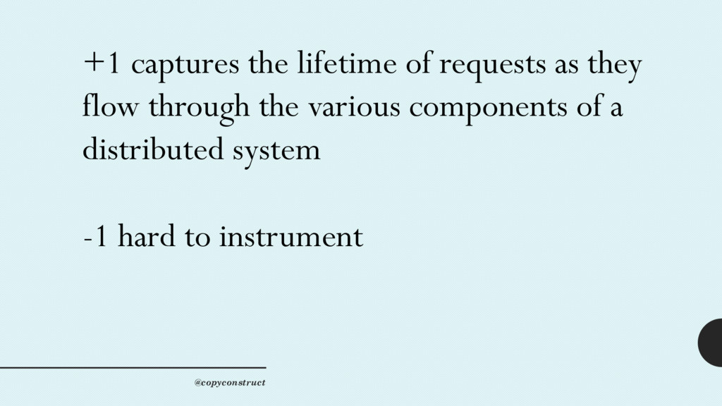 +1 captures the lifetime of requests as they fl...