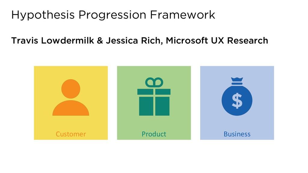 Hypothesis Progression Framework Travis Lowderm...