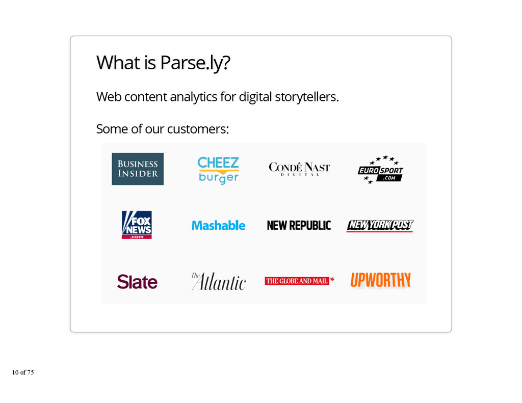 What is Parse.ly? Web content analytics for dig...