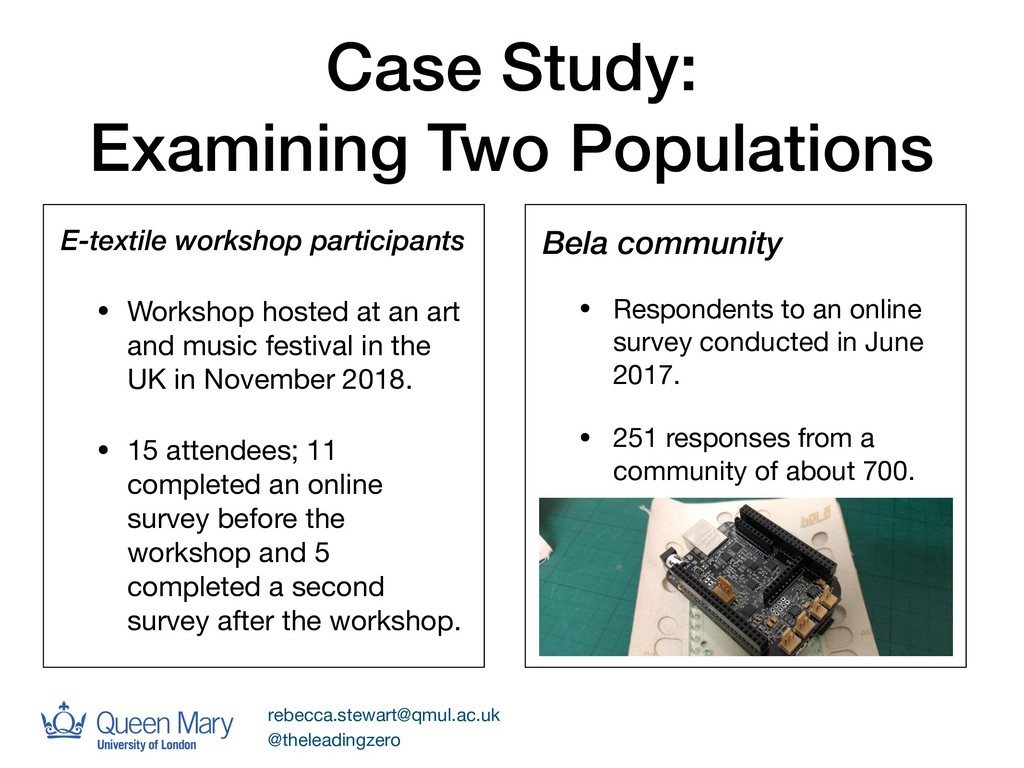 Case Study: Examining Two Populations Bela comm...