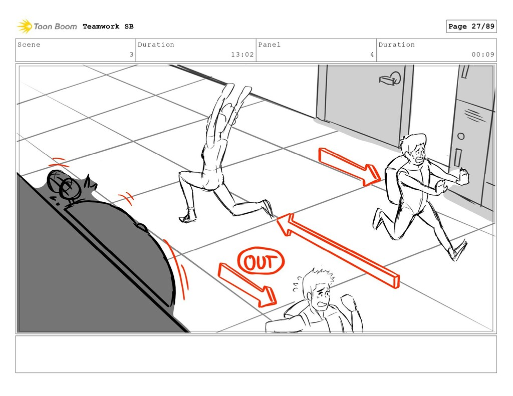 Scene 3 Duration 13:02 Panel 4 Duration 00:09 T...