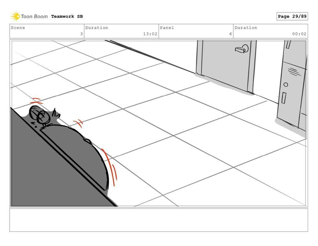 Scene 3 Duration 13:02 Panel 6 Duration 00:02 T...