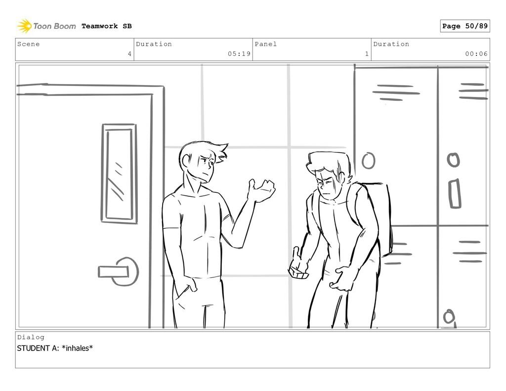 Scene 4 Duration 05:19 Panel 1 Duration 00:06 D...