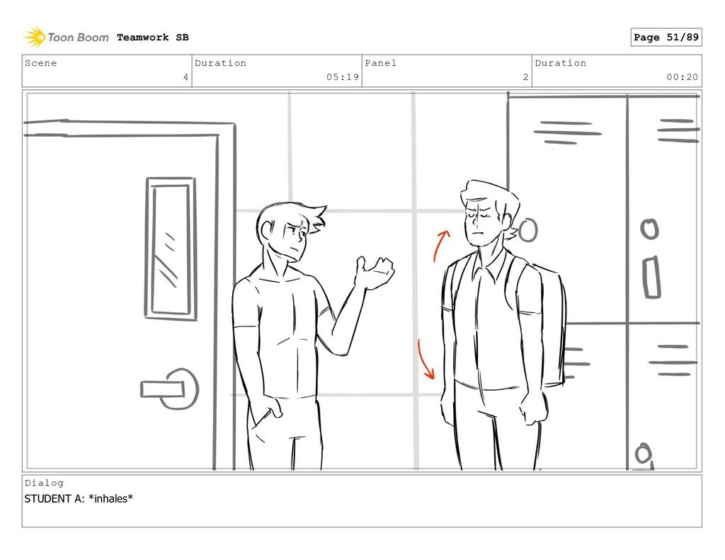 Scene 4 Duration 05:19 Panel 2 Duration 00:20 D...