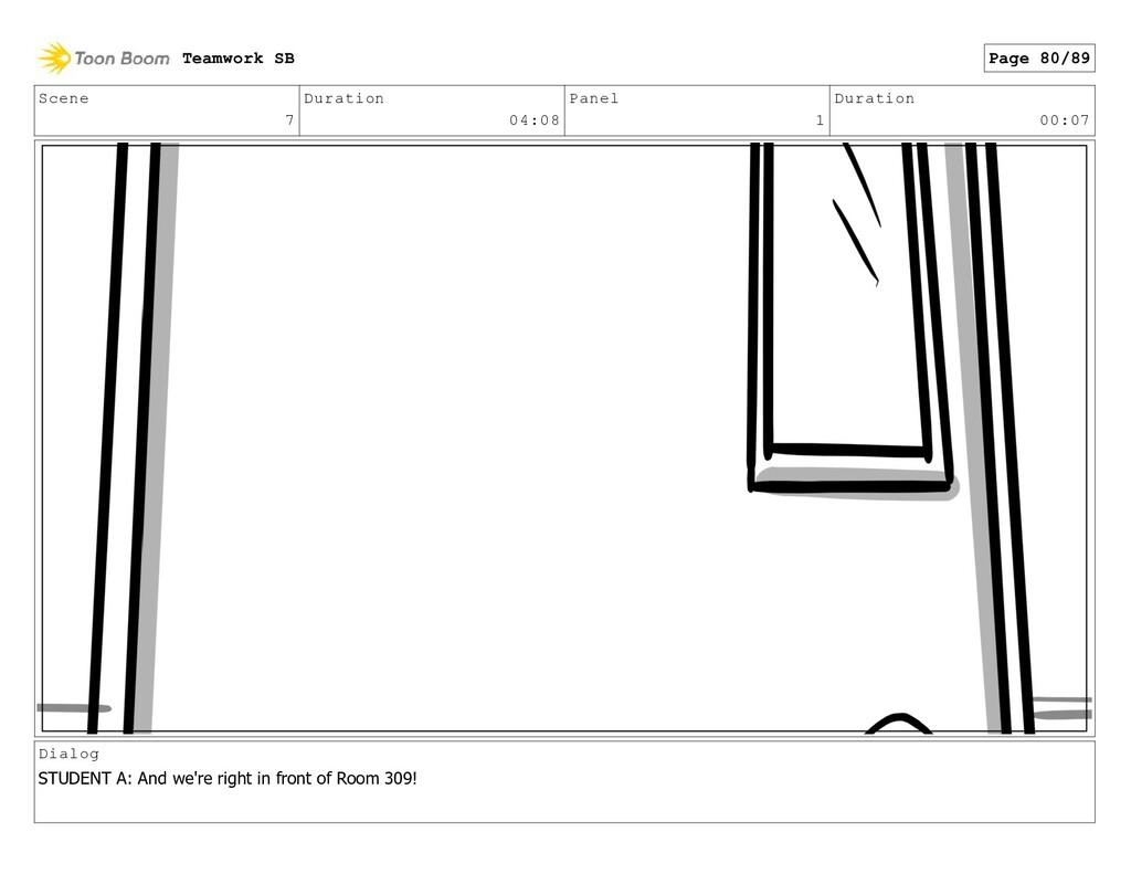 Scene 7 Duration 04:08 Panel 1 Duration 00:07 D...