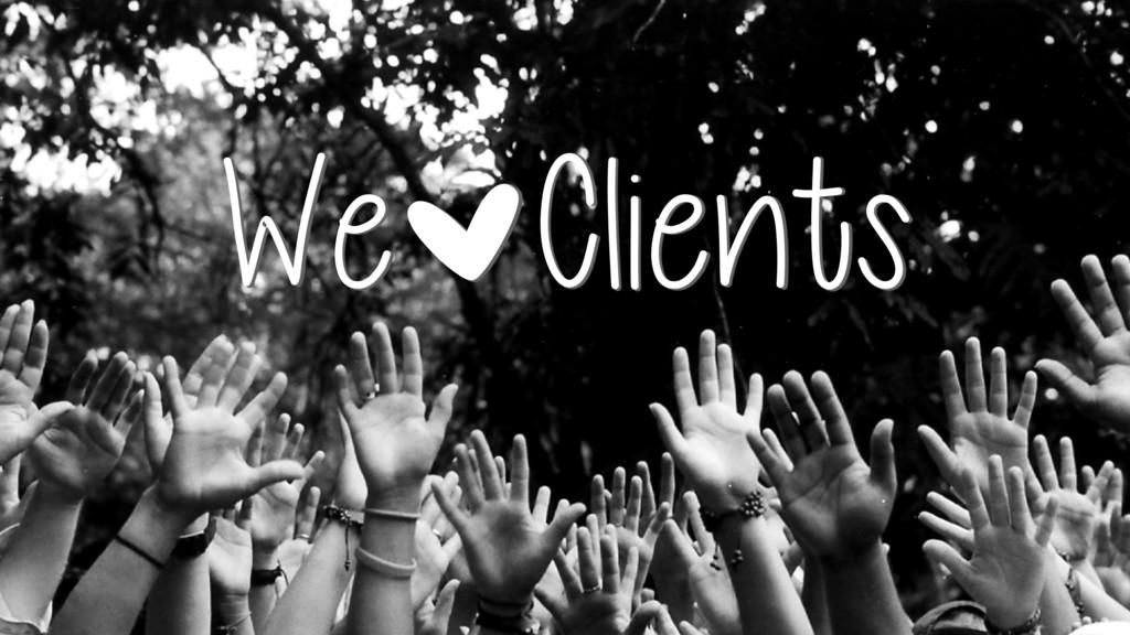 We|Clients