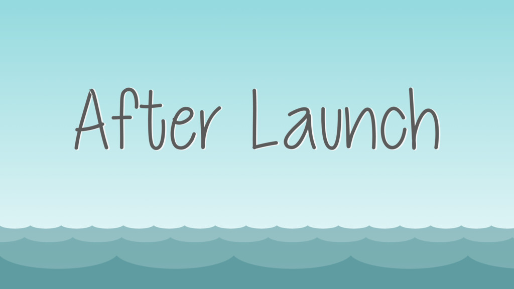 After Launch