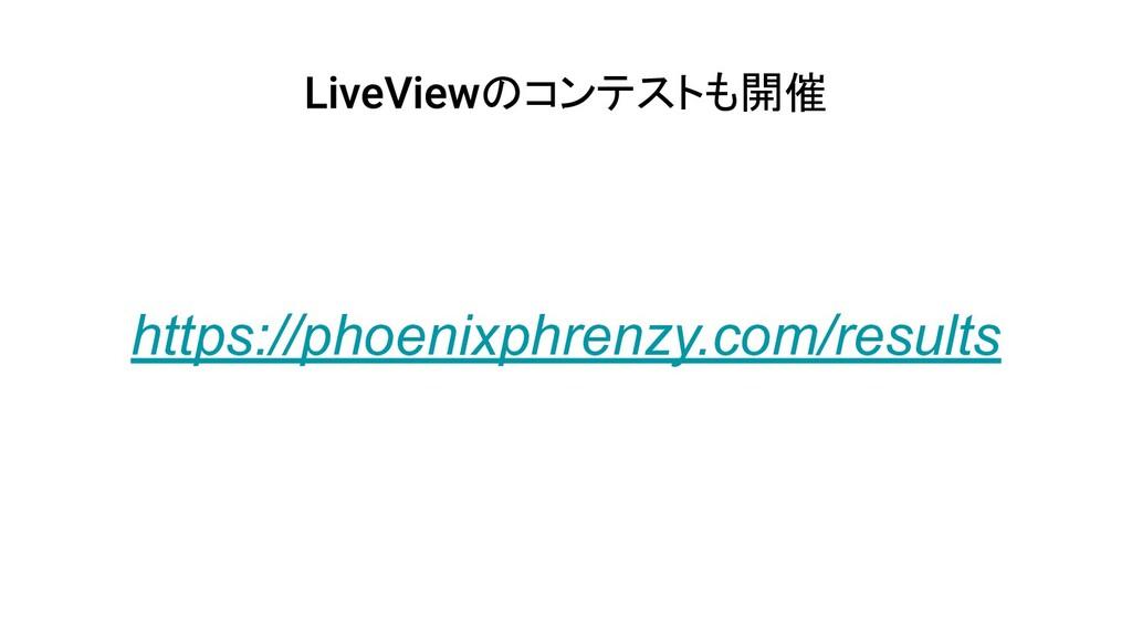 のコンテストも開催 https://phoenixphrenzy.com/results