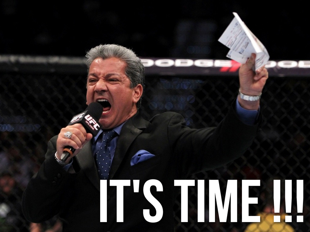 It's time !!!