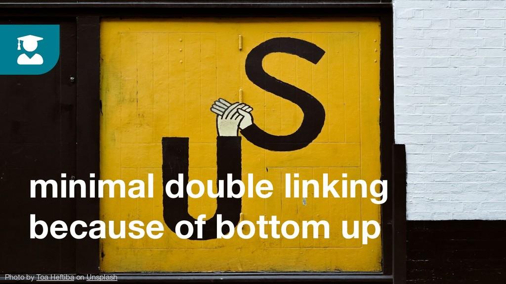 minimal double linking because of bottom up Pho...