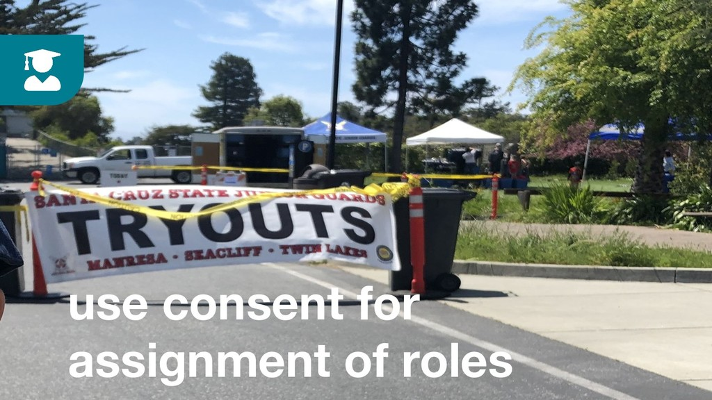 use consent for assignment of roles