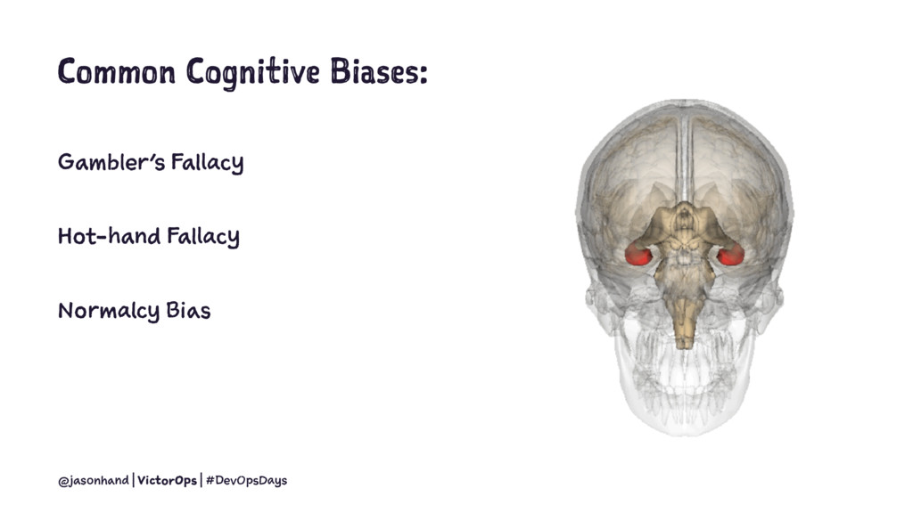 Common Cognitive Biases: Gambler's Fallacy Hot-...