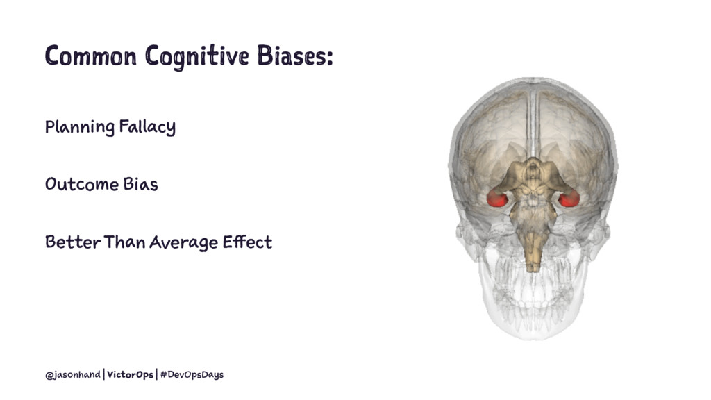 Common Cognitive Biases: Planning Fallacy Outco...
