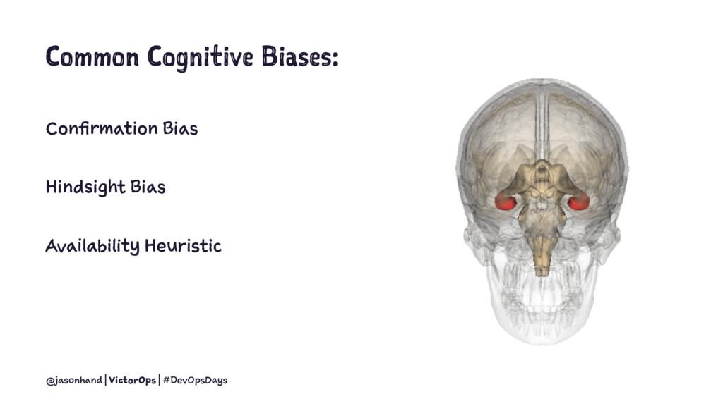 Common Cognitive Biases: Confirmation Bias Hind...