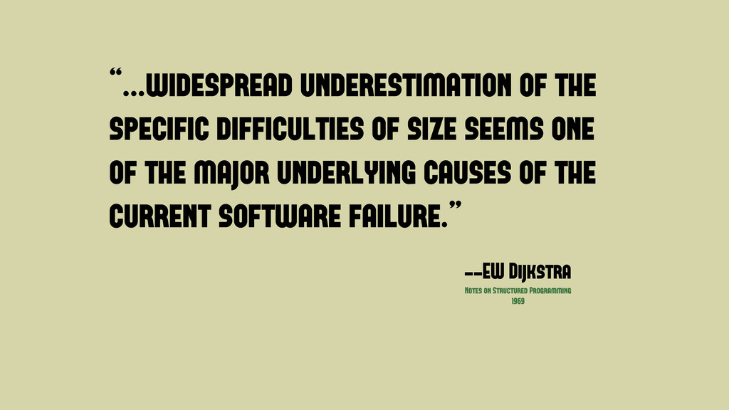 """""""...widespread underestimation of the specific ..."""