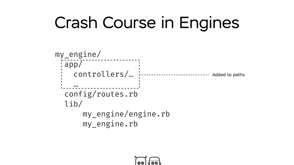Crash Course in Engines my_engine/ app/ control...