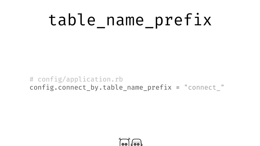 table_name_prefix # config/application.rb confi...