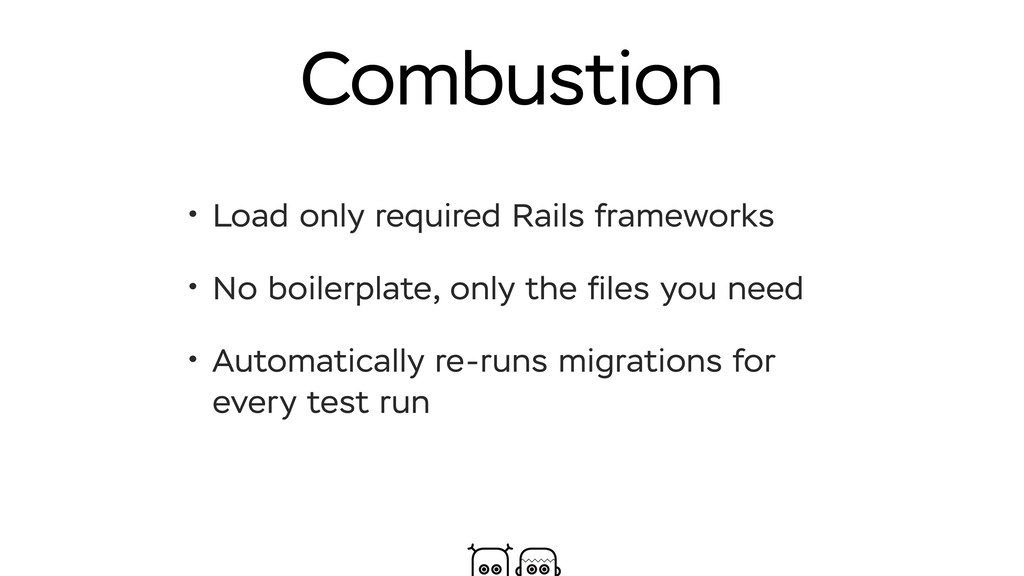 Combustion • Load only required Rails framework...