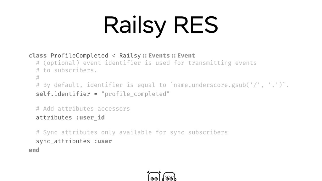 Railsy RES class ProfileCompleted < Railsy ::Ev...