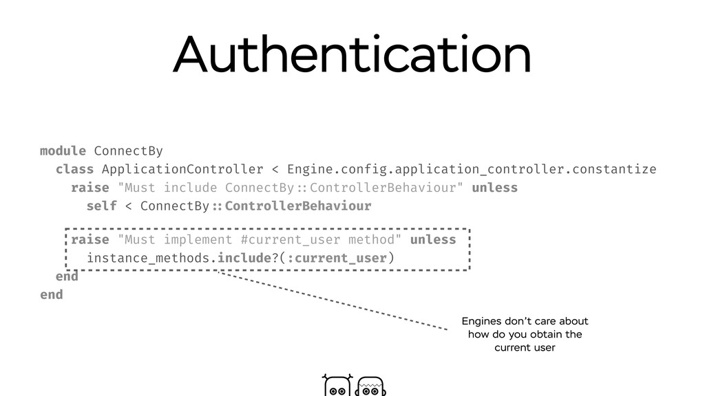 Authentication module ConnectBy class Applicati...