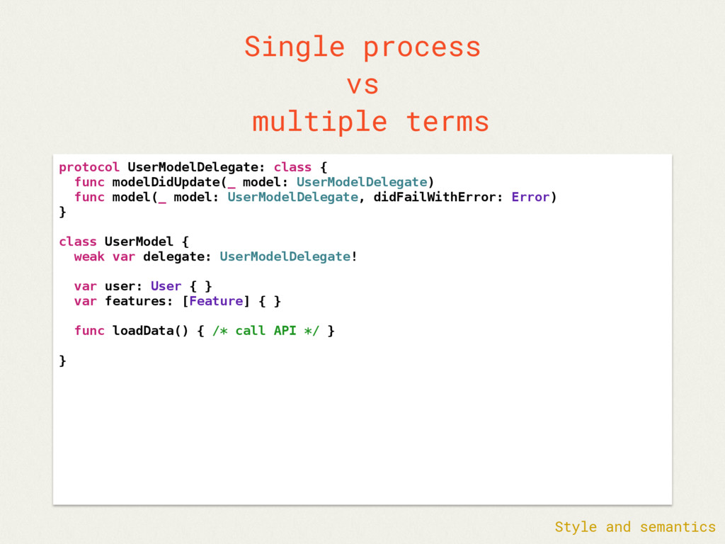 Single process vs multiple terms protocol UserM...