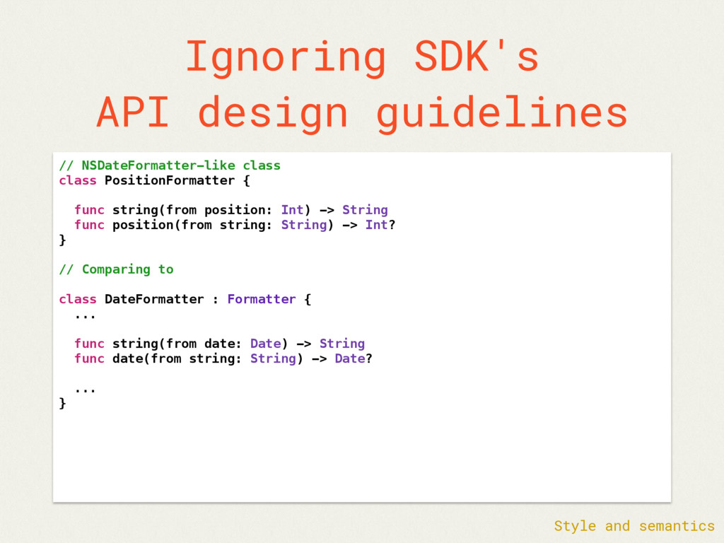 Ignoring SDK's API design guidelines // NSDateF...