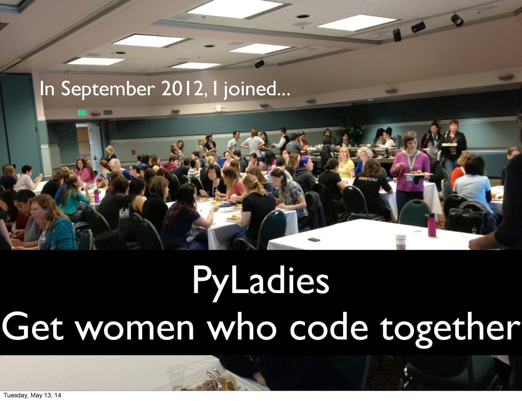 PyLadies Get women who code together In Septemb...