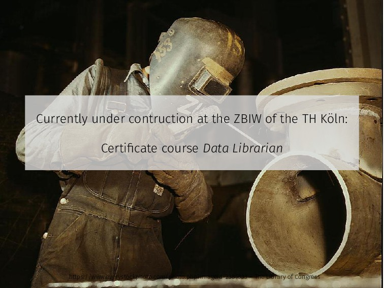 Currently under contruction at the ZBIW of the ...