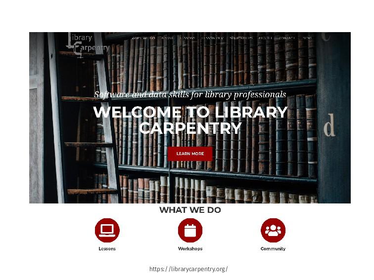 https://librarycarpentry.org/