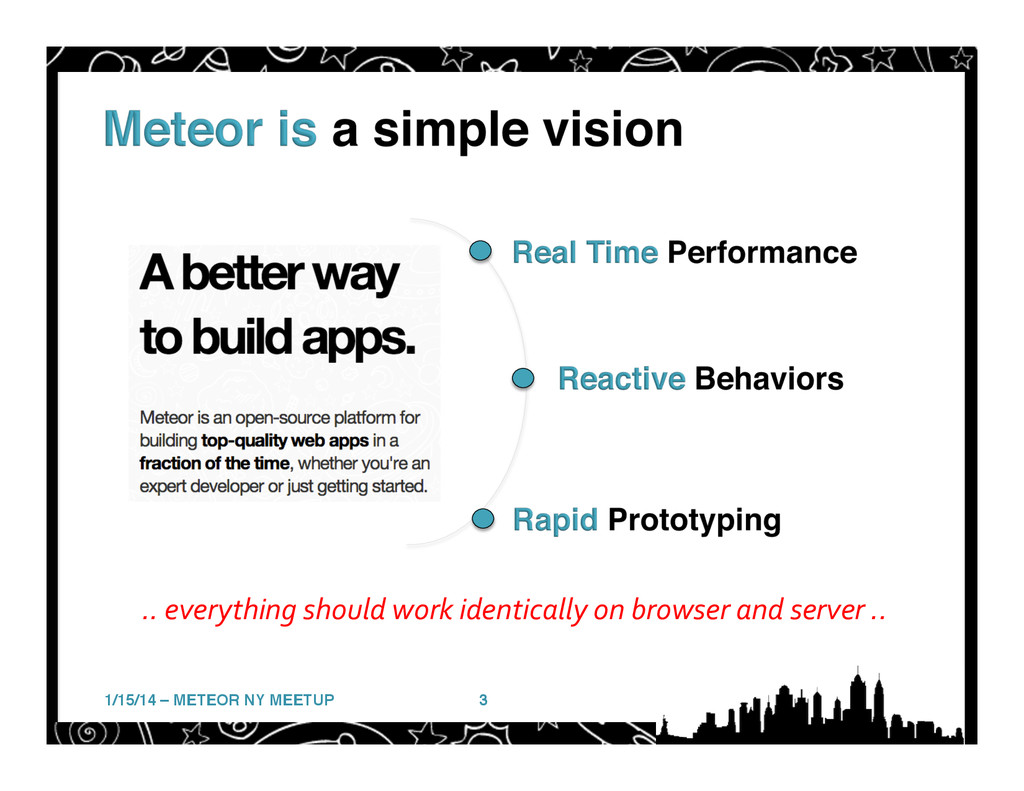 1/15/14 – METEOR NY MEETUP! 3! ..	