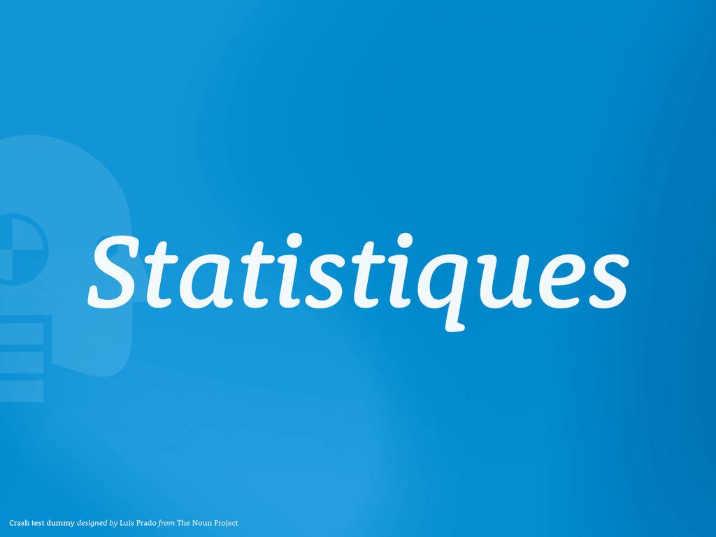 Statistiques Crash test dummy designed by Luis ...