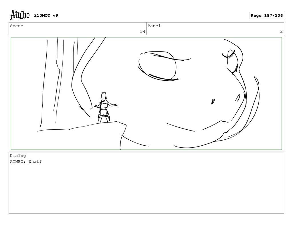 Scene 54 Panel 2 Dialog AINBO: What? 210MOT v9 ...