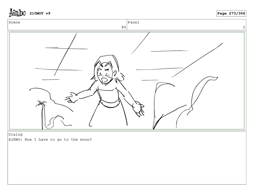 Scene 80 Panel 2 Dialog AINBO: Now I have to go...