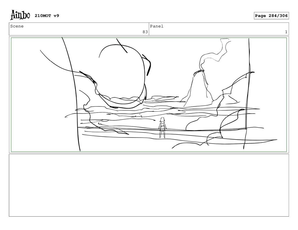 Scene 83 Panel 1 210MOT v9 Page 284/306