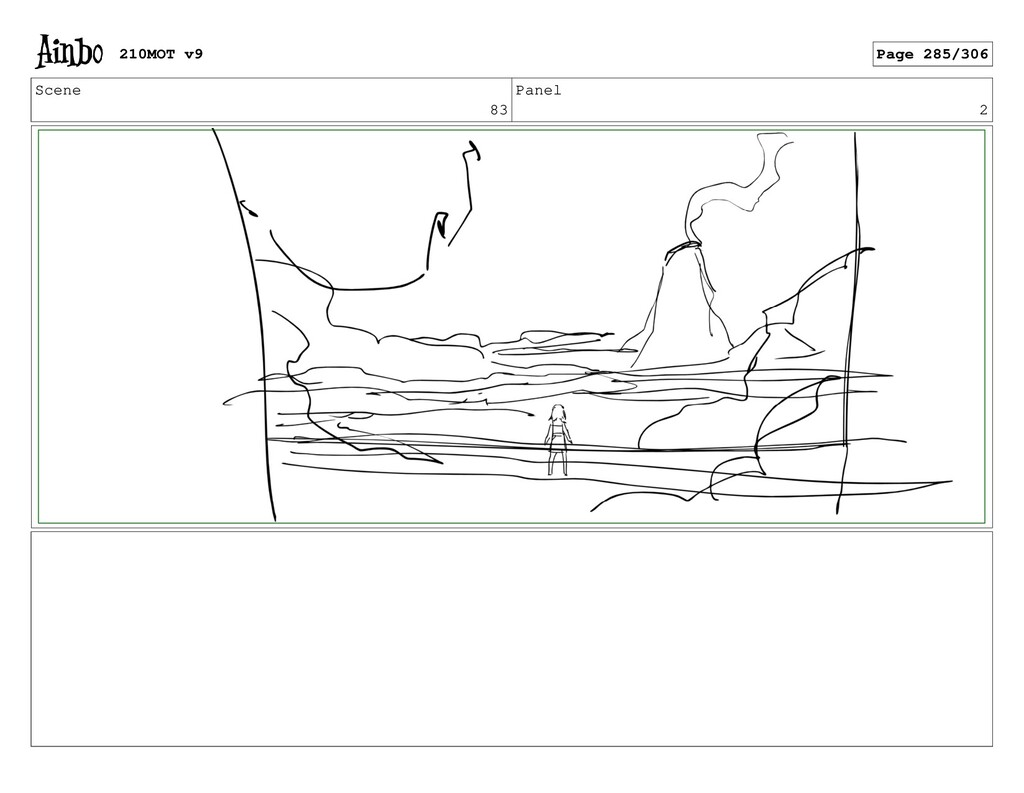 Scene 83 Panel 2 210MOT v9 Page 285/306