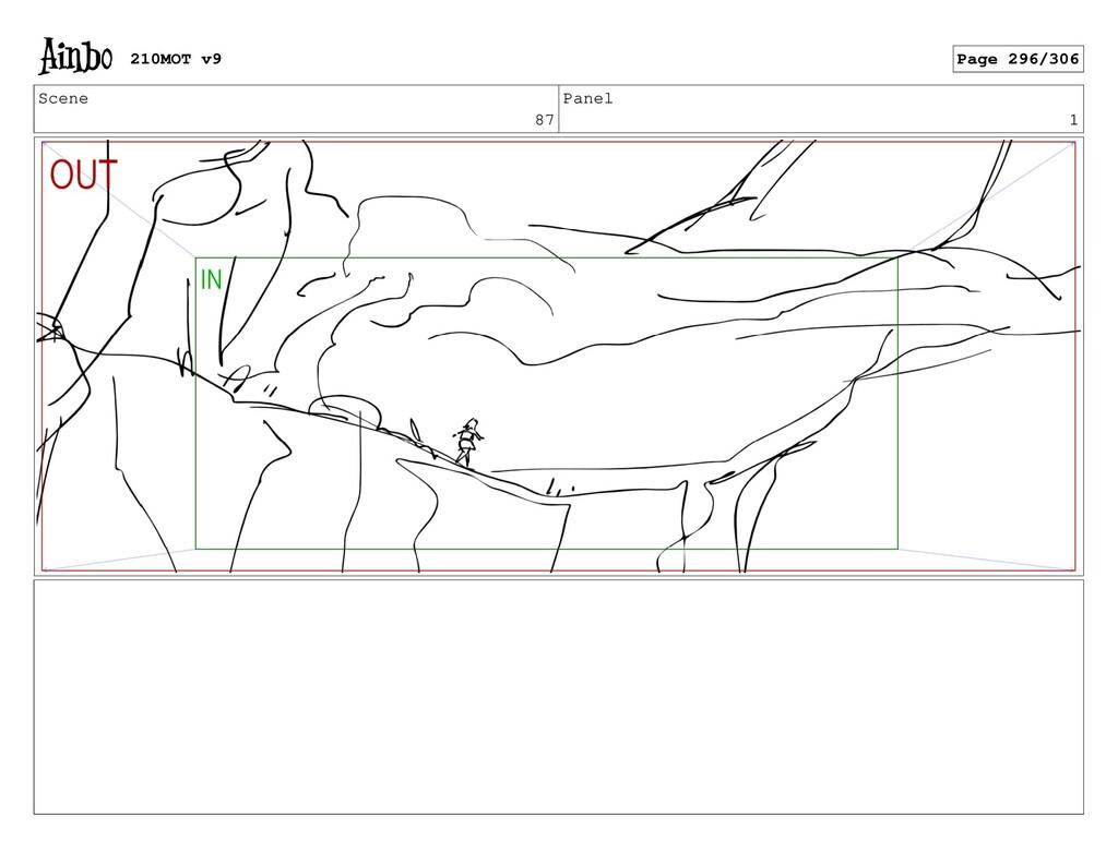 Scene 87 Panel 1 210MOT v9 Page 296/306