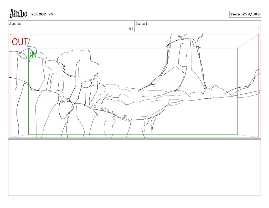 Scene 87 Panel 4 210MOT v9 Page 299/306