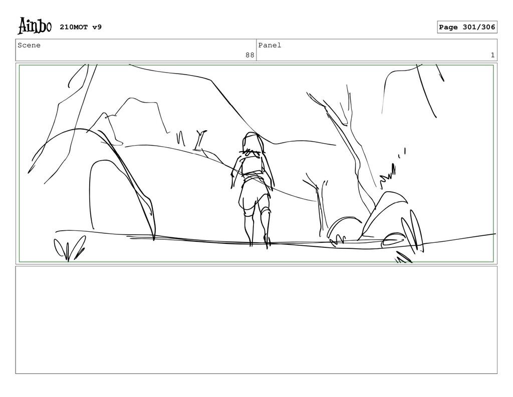 Scene 88 Panel 1 210MOT v9 Page 301/306