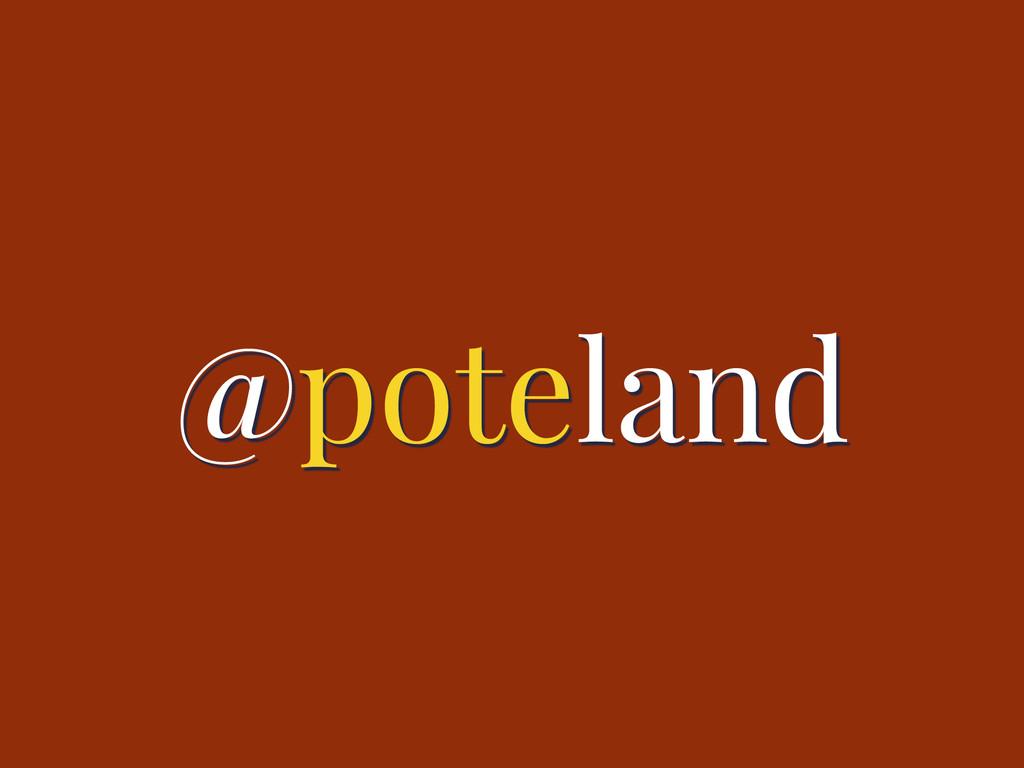 @poteland