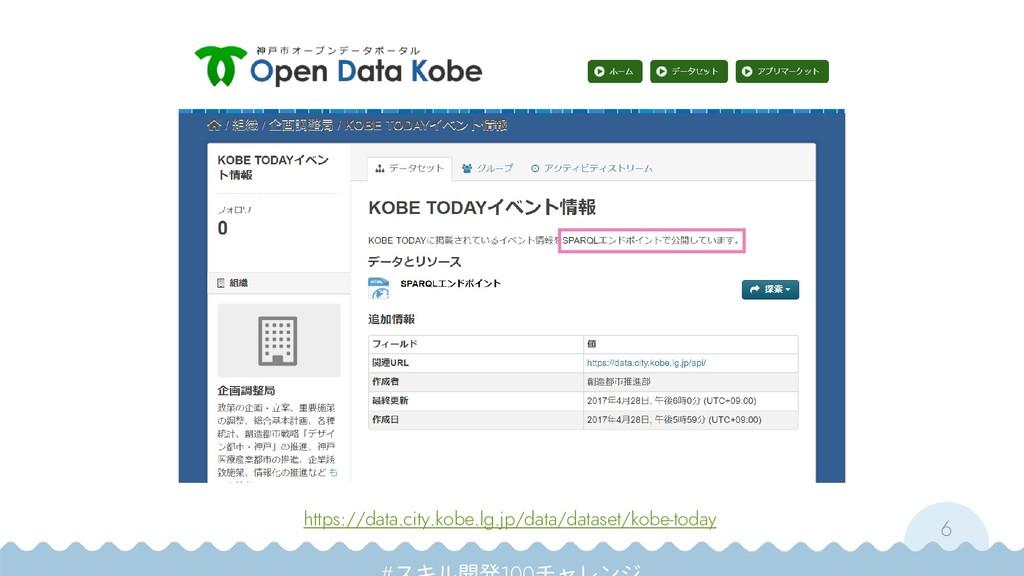 6 https://data.city.kobe.lg.jp/data/dataset/kob...