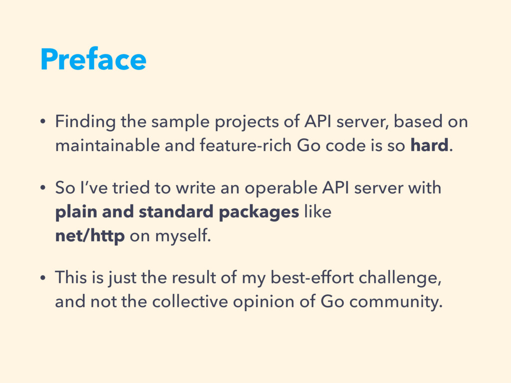 Preface • Finding the sample projects of API se...