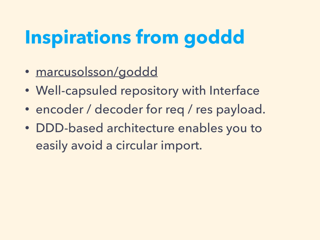 Inspirations from goddd • marcusolsson/goddd • ...