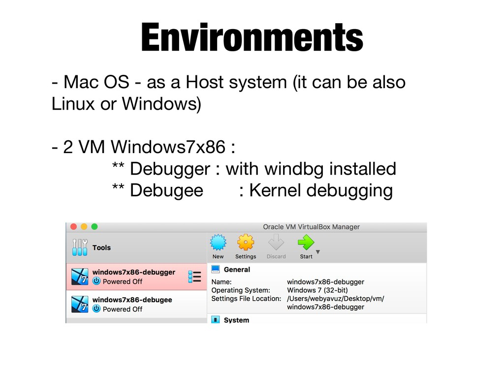 Environments - Mac OS - as a Host system (it ca...