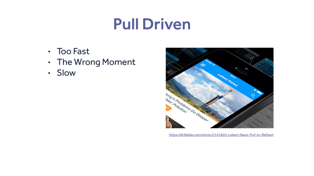 Pull Driven • Too Fast • The Wrong Moment • Slo...