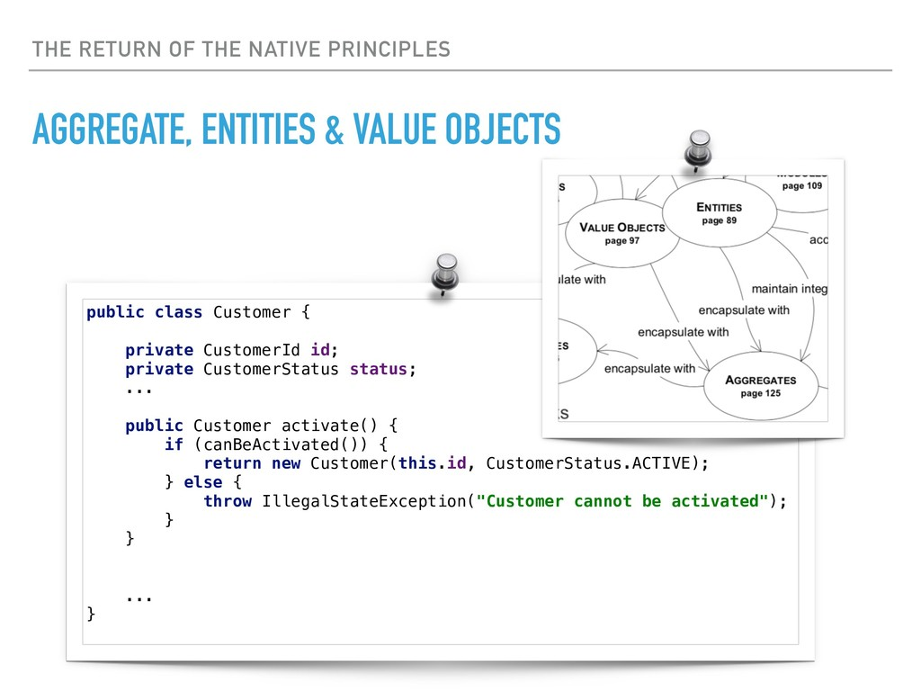 THE RETURN OF THE NATIVE PRINCIPLES AGGREGATE, ...