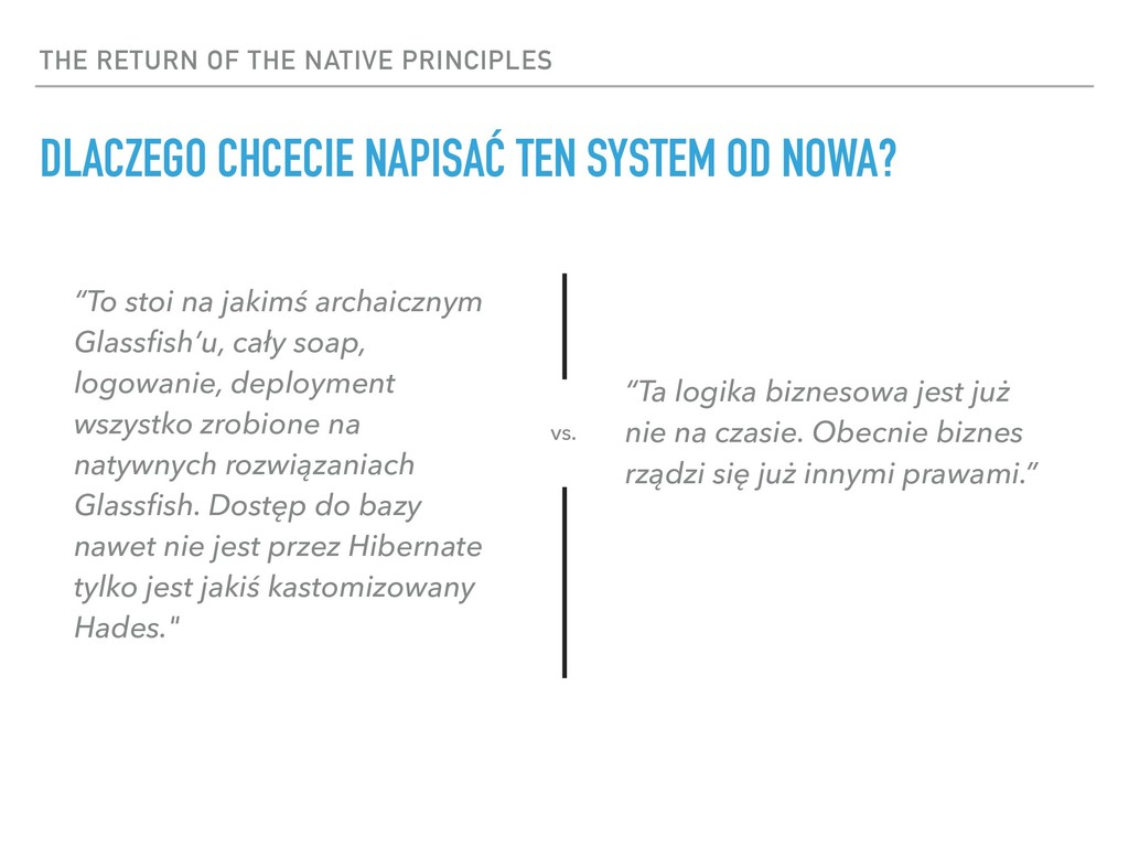 THE RETURN OF THE NATIVE PRINCIPLES DLACZEGO CH...