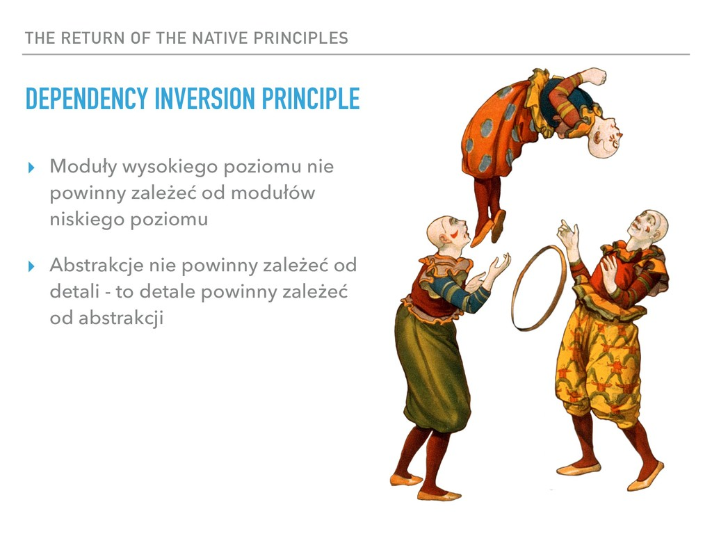 THE RETURN OF THE NATIVE PRINCIPLES DEPENDENCY ...
