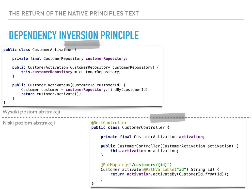THE RETURN OF THE NATIVE PRINCIPLES TEXT DEPEND...