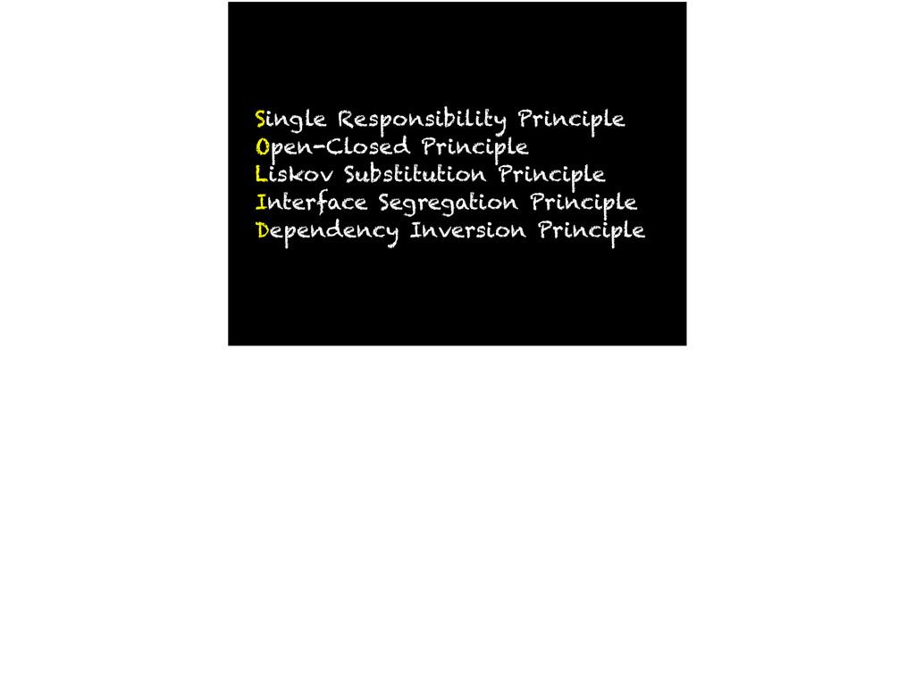 Single Responsibility Principle Open-Closed Pri...