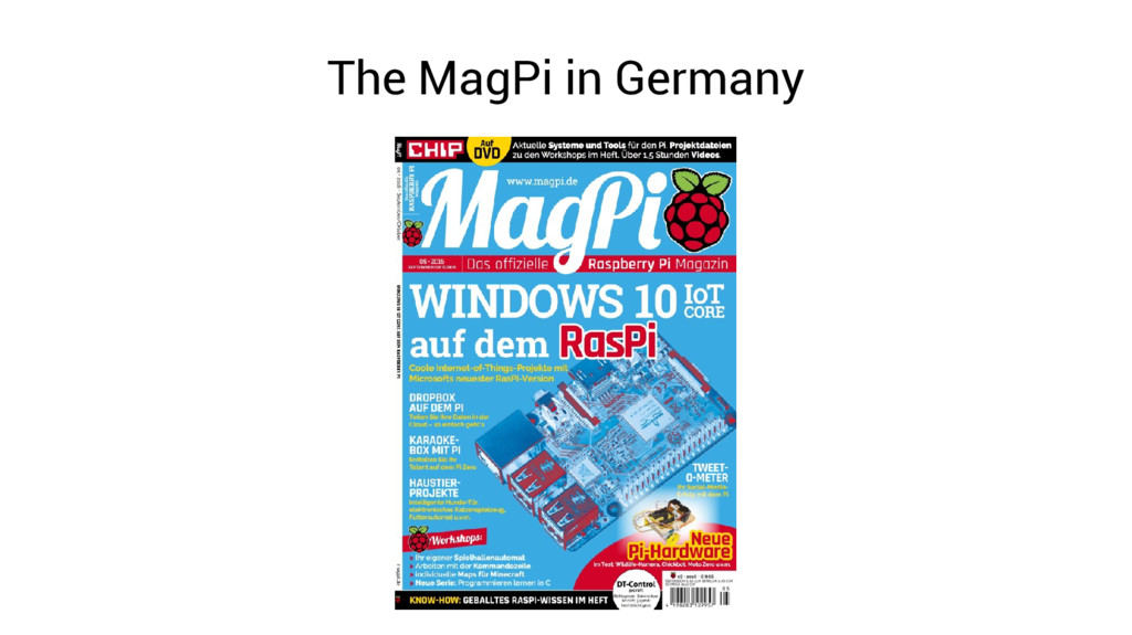 The MagPi in Germany
